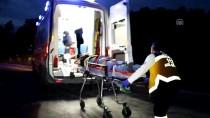 Bolu'da Otomobil İle Traktör Çarpıştı Açıklaması 2 Yaralı