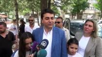 GÜLTEKİN UYSAL - DP Genel Başkanı Uysal Oyunu Afyonkarahisar'da Kullandı