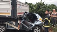 Düzce'de Seçim Günü Feci Kaza Açıklaması 2 Ölü, 2 Yaralı