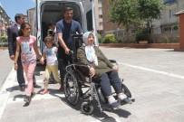 Engelliler Ve Hastalar Da Ekipler Tarafından Taşınarak Oylarını Kullandı