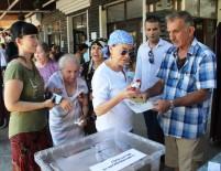 FATMA GİRİK - Fatma Girik Annesi İle Beraber Oy Kullandı