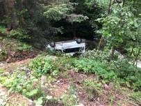 Gümüşhane'de Minibüs Dereye Yuvarlandı Açıklaması 15 Yaralı