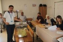 Hakkari'de Oy Kullanmaya Başladı