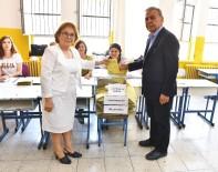 İzmir'de Belediye Başkanları Oylarını Kullandı