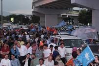 ARAÇ KONVOYU - Konya'da Seçim Kutlamaları