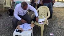 MEHMET GÜNEŞ - Köyde Kurulan Sandıkta 2 Seçmen Oy Kullandı