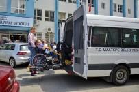 MALTEPE BELEDİYESİ - Maltepe'de Engelliler Ve Yaşlılar Sandıklara Taşındı