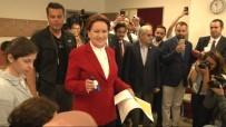 PARTİLİ CUMHURBAŞKANI - Meral Akşener sandığa İstanbul'da gitti
