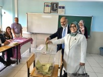 AK PARTİ İL BAŞKANI - Niğde'de AK Partililer Oylarını Kullandı