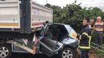 Seçim Günü Feci Kaza Açıklaması 2 Ölü, 2 Yaralı