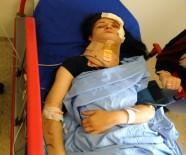 CANLI YAYIN - Trafik Kazasını Canlı Canlı Çekti