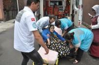 ATATÜRK - Yaşlı Çift Oy Kullanmaya Ambulansla Gitti