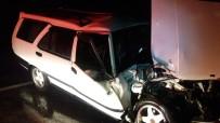 BÜLENT ECEVİT ÜNİVERSİTESİ - Zonguldak'ta Trafik Kazası; 1 Yaralı