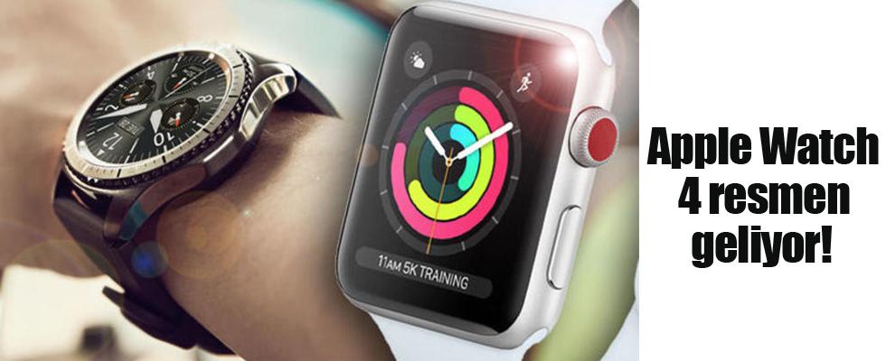 Apple Watch 4 resmen geliyor!