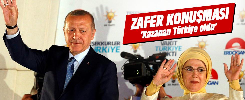 Başkan Erdoğan: Kazanan Türkiye oldu