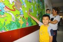 ÇİZGİ FİLM - Çocuk Servisinin Duvarlarına Resimler Çizildi