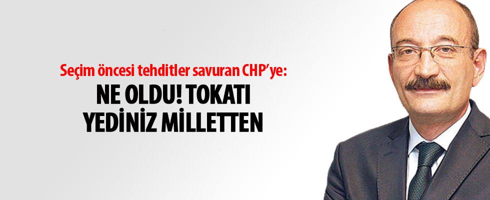 Emin Pazarcı'dan muhalefete: Tokadı yediniz milletten...