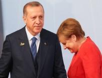MİLLETVEKİLLİĞİ SEÇİMLERİ - Merkel'den Cumhurbaşkanı Erdoğan'a kutlama