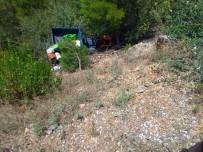 ÇAPA MOTORU - Mersin'de Çapa Motoru Devrildi Açıklaması 1 Ölü