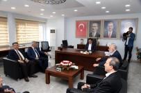 SÜREYYA SADİ BİLGİÇ - MHP'li Başkan Günaydın'dan AK Parti'ye Tebrik Ziyareti