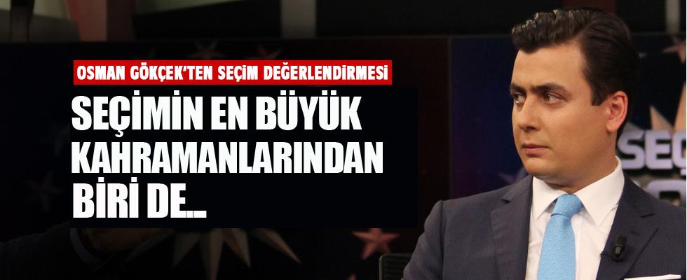 Osman Gökçek'ten ilk değerlendirme