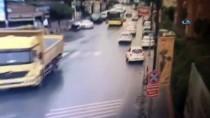 GÖKTÜRK - (Özel) Otomobili İle Kazadan Kaçarken Kaza Yaptı