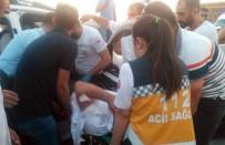 TOKI - Şanlıurfa'da İki Otomobil Çarpıştı Açıklaması 4 Yaralı