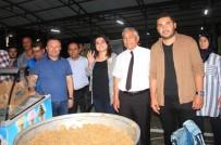 ÇETIN KıLıNÇ - Sarıgöl'de AK Parti'den Seçmene Dondurma Ve Helvalı Teşekkür