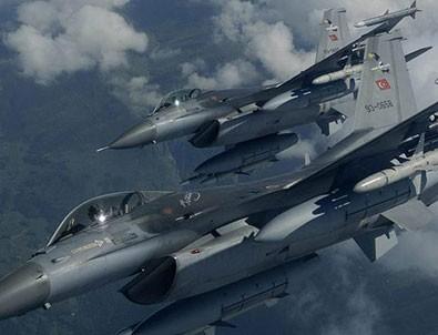TSK, PKK'nın inlerini vurdu