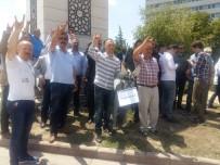 HAYSIYET - Ülkücülerden Yaşar Okuyan'a 'Eşek' Maketli Protesto