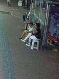 HASAN ERDOĞAN - Alanya'da Cep Telefonu Hırsızlığı Güvenlik Kamerasında