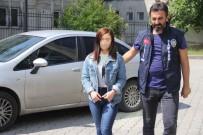KıŞLA - 'Bakışma' Yüzünden Bıçakla Yaralama Yapan Genç Kız Tutuklandı