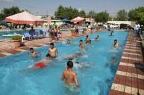 Bismil Belediyesinden Yetişkinlere Ücretsiz Havuz
