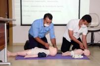 KAMU PERSONELİ - Büyükşehir'den Adliye Personeline İlk Yardım Eğitimi