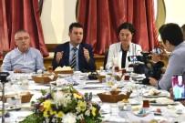 İFTAR YEMEĞİ - Çorlu Belediye Başkanı Sarıkurt Açıklaması 'Belediye Bütçesini Kendi Evimizi Yönetir Gibi Yönetiyoruz'