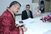 Erzincan'da Müftülük İlk Resmi Nikahı Kıydı