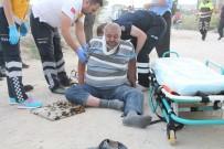 ELEKTRİKLİ BİSİKLET - İlginç Kazada Bir Kişi Yaralandı