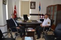 ŞEREF AYDıN - Jandarma Ve Emniyete Teşekkür Ziyareti