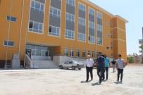 HAYIRSEVER İŞ ADAMI - Kuntoğlu, Yapımı Devam Okullarda İncelemelerde Bulundu