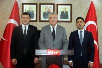 İSMAIL ÖZDEMIR - MHP İl Başkanı Serkan Tok Açıklaması 'MHP Bölündü' Diyen Felaket Tellalları Milletimizin Sillesini Yemiştir'