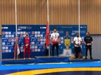 ELEME MAÇLARI - Yunus Emre Başar, Dünya Ve Olimpiyat Şampiyonu Sırp Davor Stafank'i Yenerek Altın Madalya Kazandı.