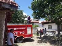 Ahşap Evde Çıkan Yangın Güçlükle Söndürüldü