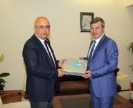 BURHANETTIN ÇOBAN - Başkan Çoban, İl Emniyet Müdür Vekili Gürsel Yıldız'ı Ziyaret Etti
