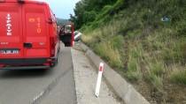 AKÇAALAN - Bolu'da Trafik Kazası Açıklaması 2 Yaralı