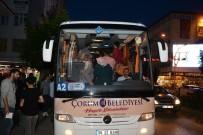 Çorum Belediyesi'nin Çanakkale Gezileri Yeniden Başladı