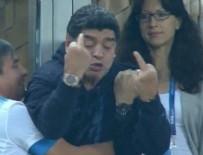 MARADONA - Maradona'dan olay hareket!