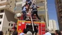 Mardin'de Korkutan Yangın Açıklaması Çocuk Son Anda Kurtarıldı