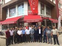 MHP Milletvekili Mehmet Taytak'tan Dinar'a Teşekkür Ziyareti