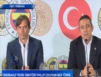 AYKUT KOCAMAN - Phillip Cocu'dan 3 yıllık imza! Cocu, Ali Koç ve Comolli'den ilk açıklamalar...