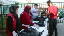 AFRİN - Suriyeli İhtiyaç Sahiplerine Balık Yardımı
